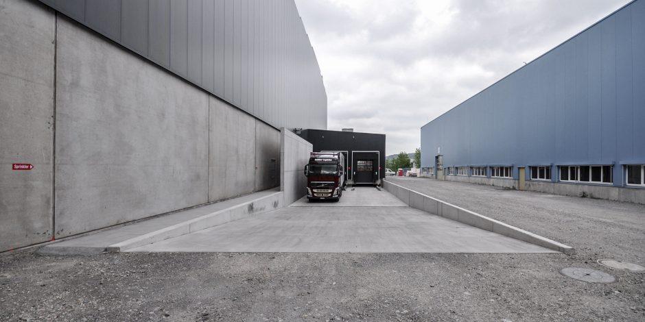FWAG - Ferrowohlen Laderampe Anbau Spedition