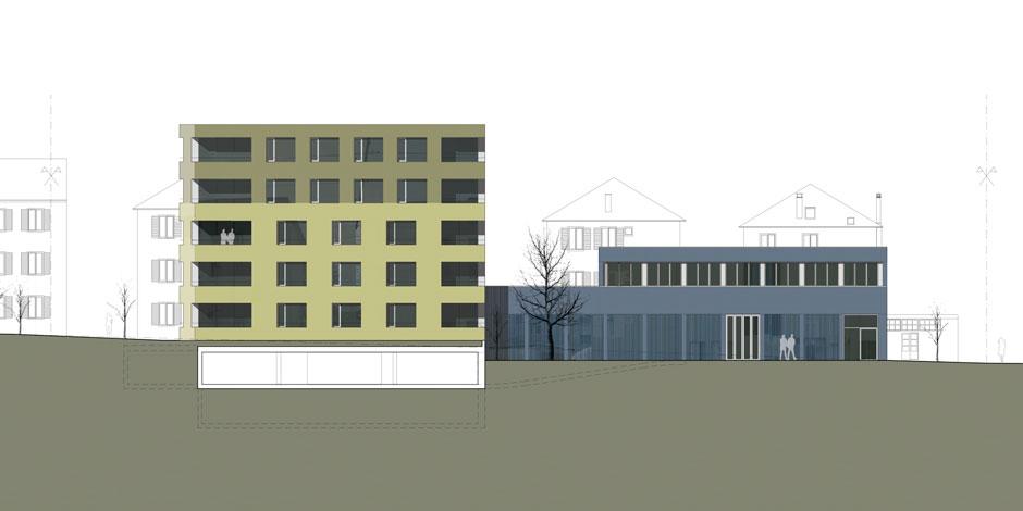 HOB - Hauptfassade
