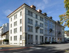 renovation apartment building at Kriens