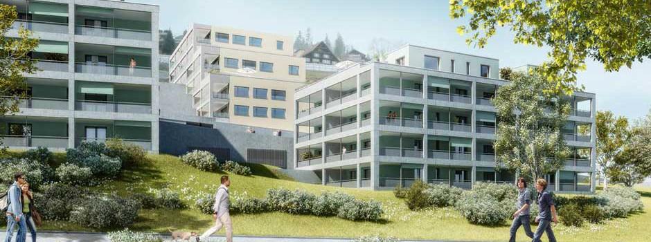 Wohnüberbauung Unter Sidhalden Kriens Etappe III