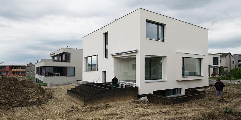 SOMM - Gartenfassade