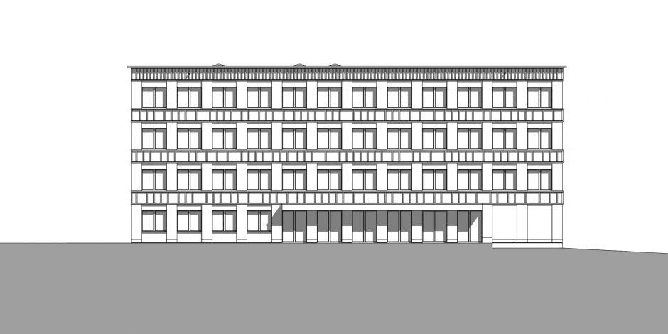 SUIS - Gartenfassade