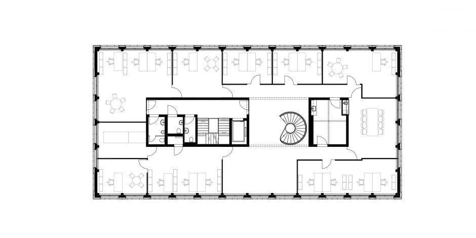 SUIS - Grundriss Obergeschoss